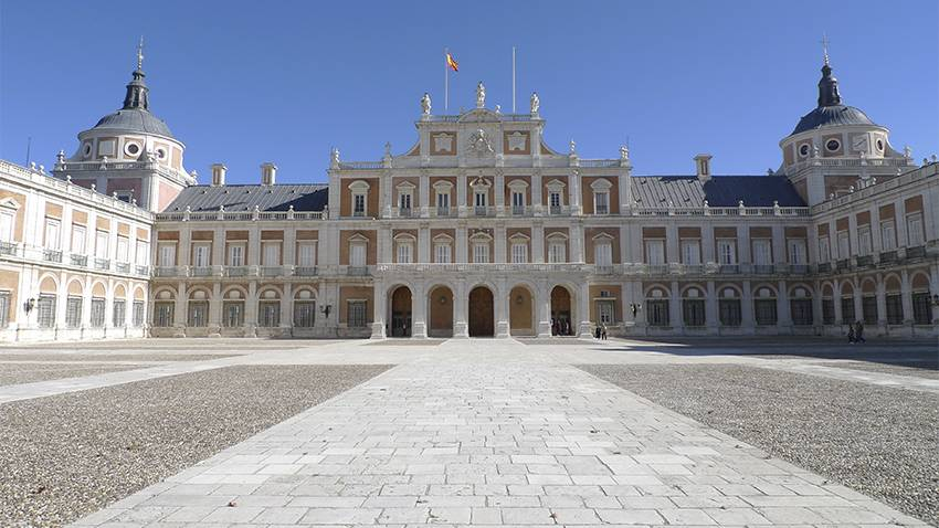 Palais Royal d'Aranjuez in Madrid, Spanien